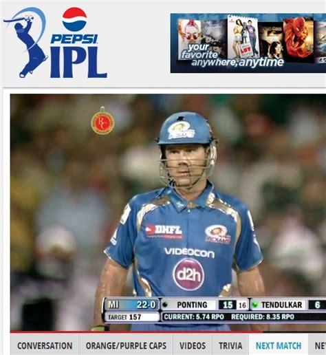 ipl t20 live cricket match