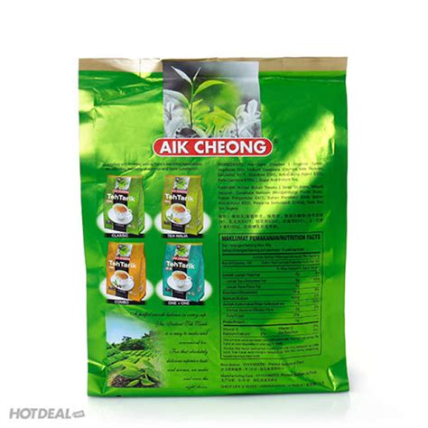 Teh Tarik Aik Cheong tr 224 sữa aik cheong teh tarik milk tea nhập khẩu malaysia 600gr