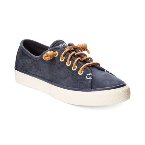 sperry sneakers womens sperry top sider sperry s seacoast suede sneakers in