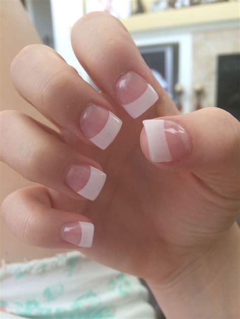 beauty 25 pattern acrylic nail tips french false nail art best 25 french tip acrylics ideas on pinterest