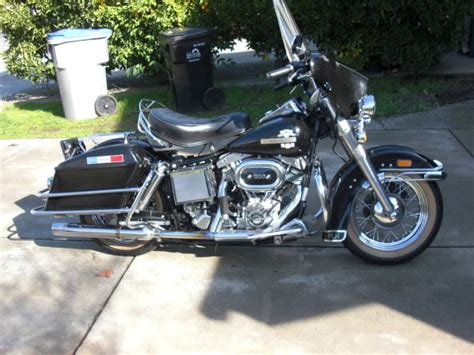 1976 Flh Electra Glide 1380cc Amf Service Manual Harley