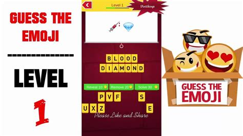 imagenes de guess the emoji level 1 guess the emoji level 1 all answers walkthrough by