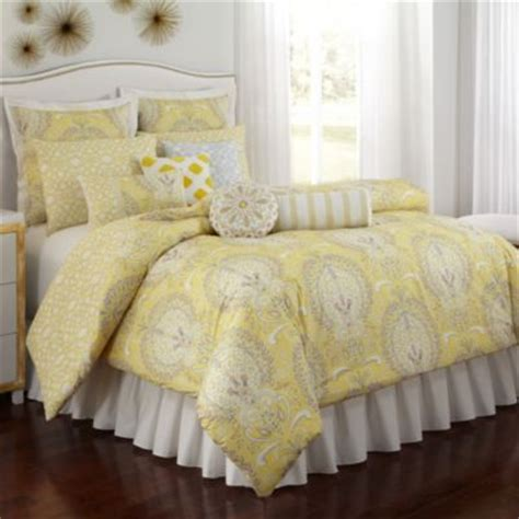 yellow and grey bedding sets buy yellow grey comforter from bed bath beyond