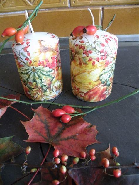 decoupage candele 108 best decoupage candles and stones images on