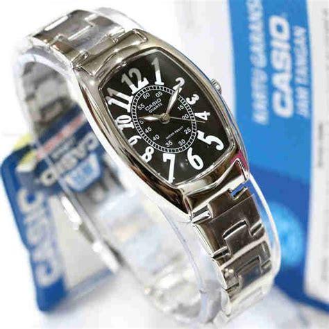 jam tangan casio wanita ltp 1208d rantai original