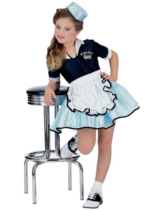 50 girl halloween costumes kids car hop girl costume