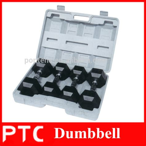 Kettler Dumbell Rubber Cover Chrome Fixed 7 5kg crossfit fitness equipments 50kg rubber coated hex dumbbell buy 50kg rubber coated hex