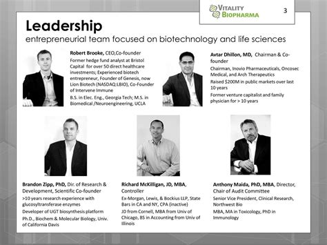 Jd Mba Hedge Fund by Vitality Biopharma Vbio Presents At Ld Micro Event