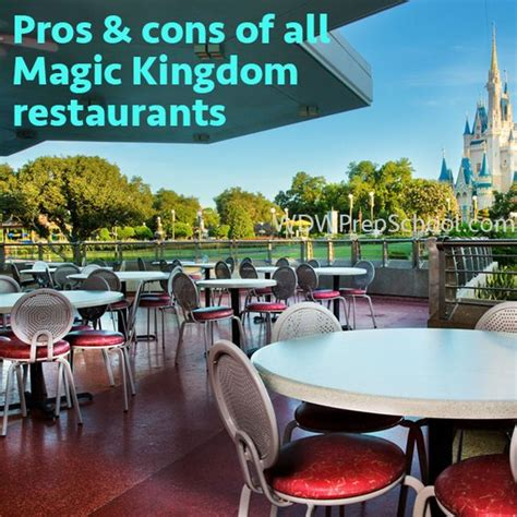 table service magic kingdom magic kingdom epcot and restaurant on