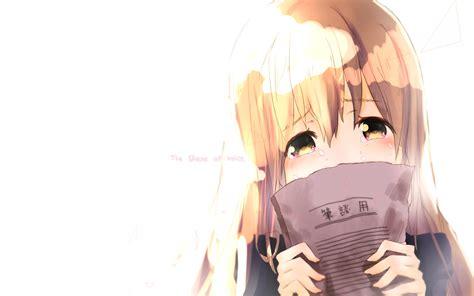 anime koe no katachi anime koe no katachi wallpaper koe no katachi