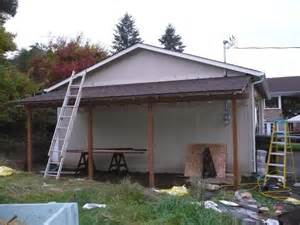 Building Onto A Garage by Adding A 24 X12 Lean To The Garage Journal Board