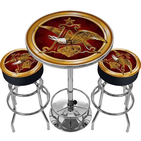 Busch Light Bar Stools by Anheuser Shop Collectibles Daily