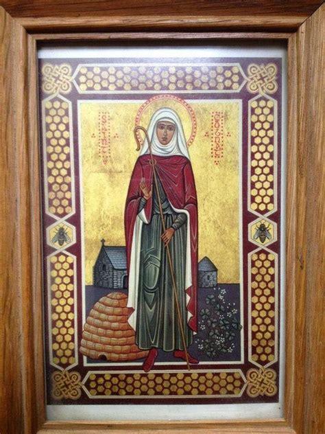 st gobnait orthodox patron saints honey bees
