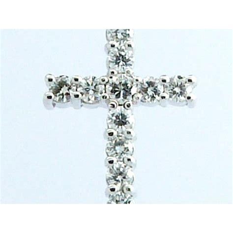 cadenas de oro y diamantes cruz de oro blanco y diamantes con cadena de oro blanco