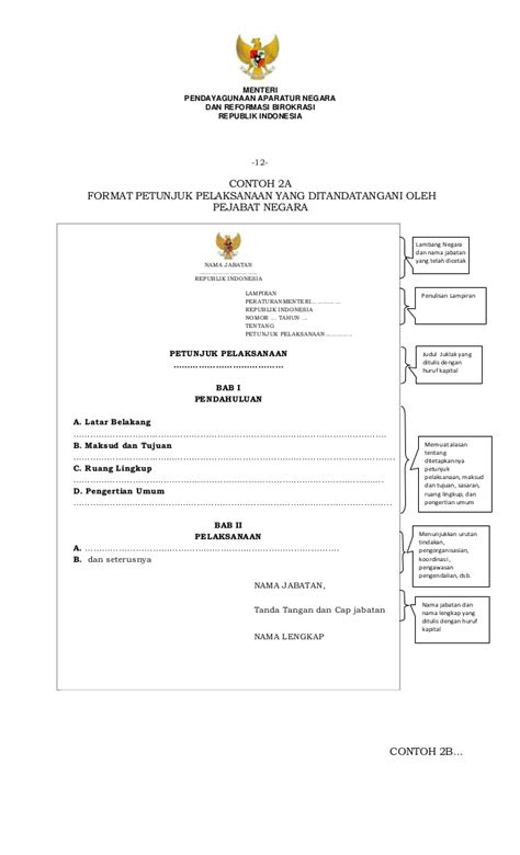 Pengendalian Tanpa Birokrasi salinan peraturan menteri panrb nomor 80 tahun 2012 tentang pedoman t