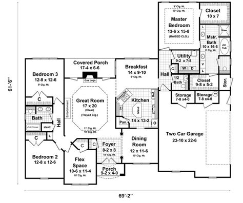walkout ranch floor plans ranch style house plans with basements ranch house plans