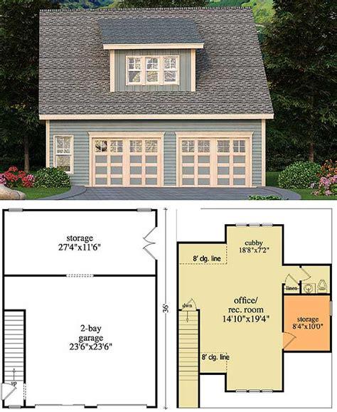 detached home office plans craftsman retreat with detached garage 29866rl 1st