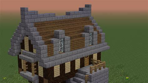 minecraft een huis minecraft tutorial normaal middeleeuws huisje youtube