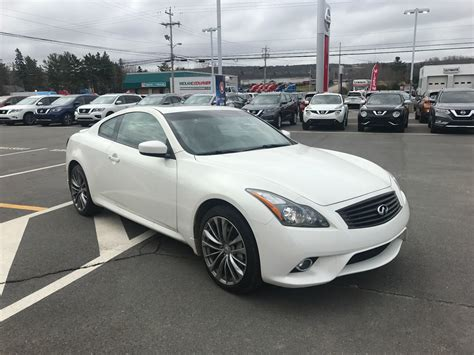 2011 infiniti g37 sport coupe used 2011 infiniti g37 coupe sport in kentville used