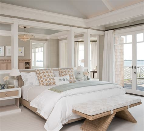 Hanging Curtains From Ceiling by Hamptons Ny Ii Beach Style Bedroom New York By