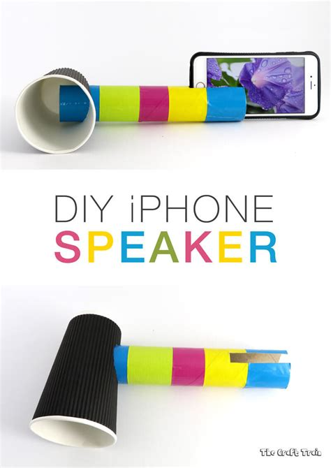 Paper Cup Telephone Craft - diy iphone speaker to learn about sound the craft