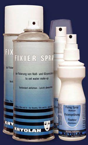 kryolan hair color spray review kryolan non aerosol fixer spray reviews photos