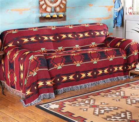 western couch covers southwestern flame furniture covers