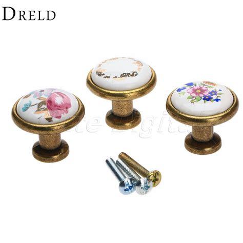 Decorative Furniture Knobs by Aliexpress Buy Antique Brass Kitchen Door Knob