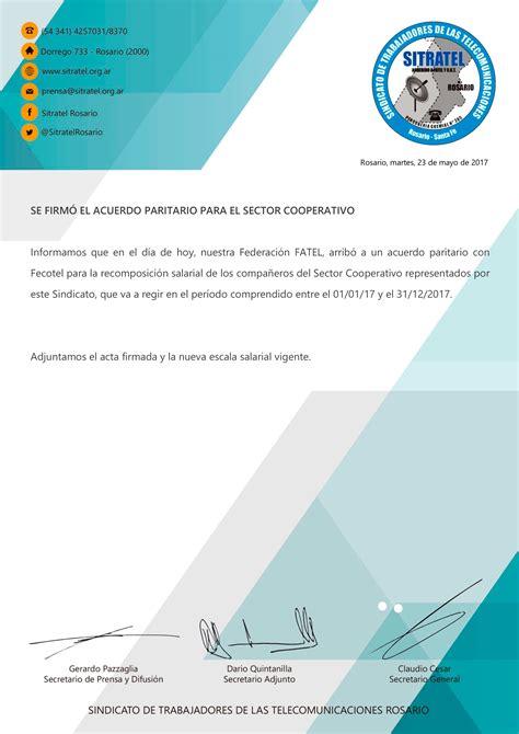 se firm acuerdo salarial con sitramune para todo el 2016 prensa se firm acuerdo salarial con sitramune para todo el 2016