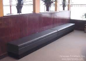 booth benches upholstered restaurant customer waiting booth benches