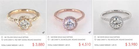 k color k color engagement rings engagement ring