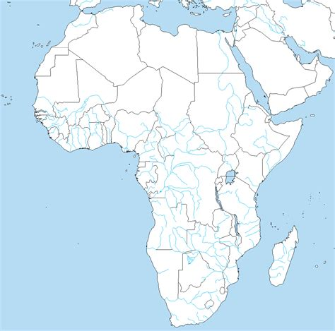 world map of rivers in africa a blank map thread page 159 alternate history discussion