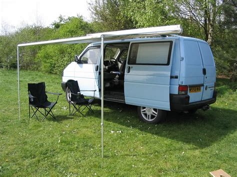 vw transporter t4 syncro cer conversion fiamma awning