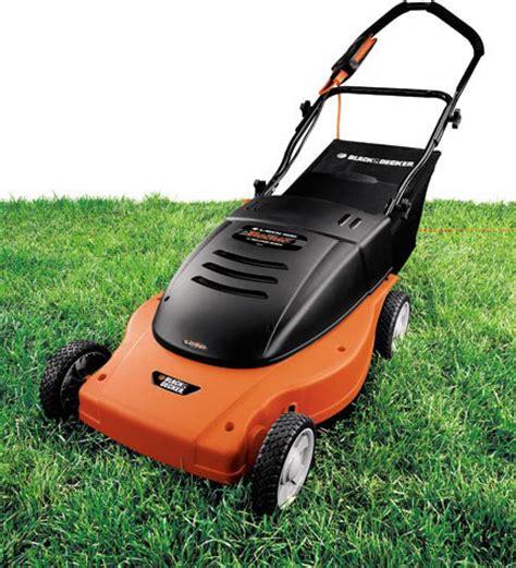 black decker electric mower black decker mm875 lawn hog 19 inch 12