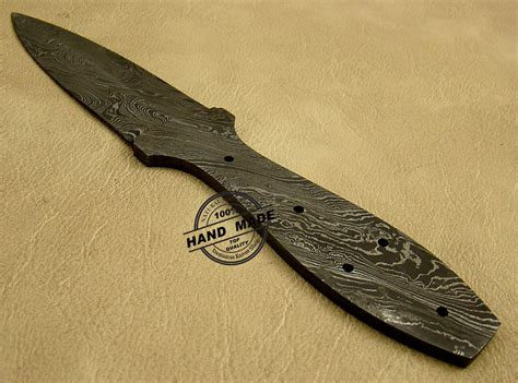 custom knife blanks new damascus blank blade skinner knife custom handmade