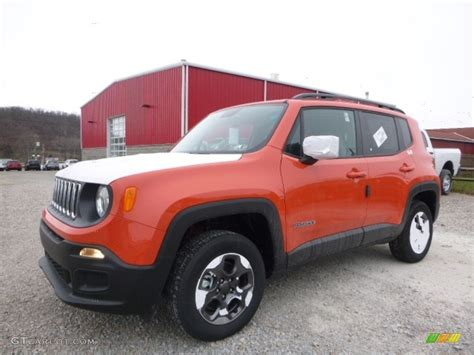 2017 jeep orange 2017 omaha orange jeep renegade sport 4x4 117593189 photo