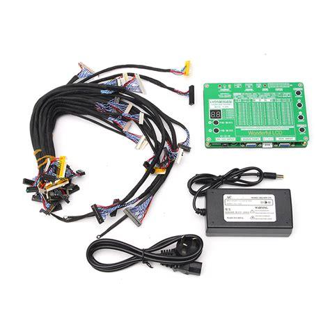 test tv led 5 6 84inch lcd led panel tester lvds screen tester tv