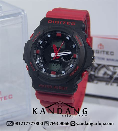 Jam Tangan 511 Rabber 6 jam tangan digitec pria type dg2041t dual time digital analog rubber sporty hitam merah original