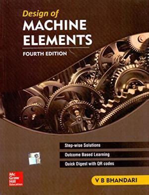 design of machine elements juvenile v b bhandari abebooks