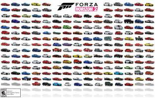 new cars names list forza motorsport forza horizon 2 cars revealed