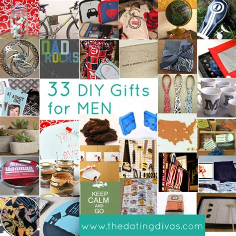 diy gift ideas for your man