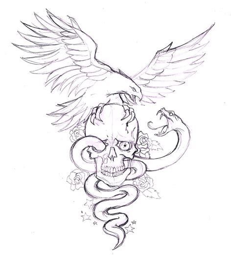 tattoo eagle drawing american eagle drawing tattoo