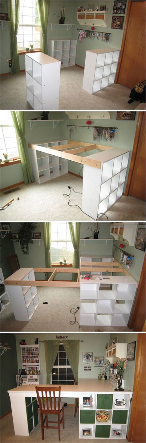 diy custom desk how to diy custom craft desk with storages beesdiy
