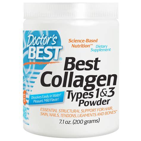 Top Collagen doctor s best best collagen types 1 3 powder 7 1 oz