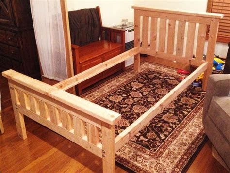 2x4 bed frame 17 best ideas about 2x4 furniture on build a