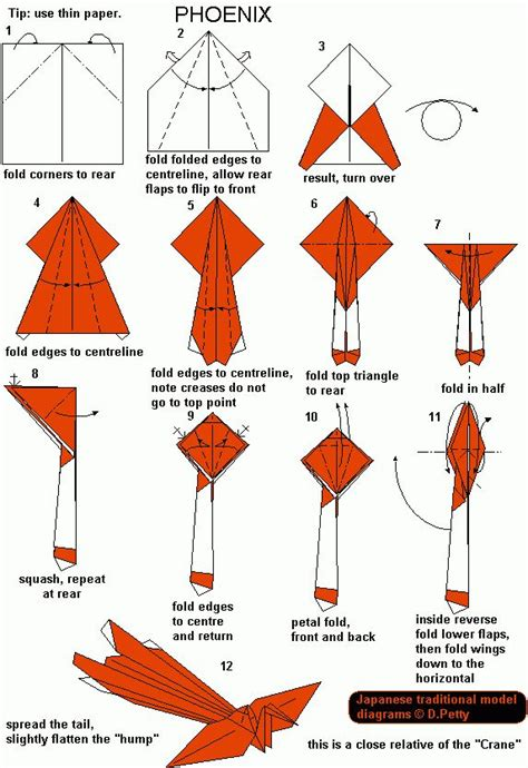 free printable animal origami instructions 17 best ideas about kirigami tutorial on pinterest