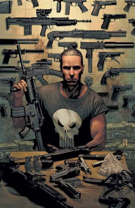 punisher back to the garth ennis doing a new punisher mini hell yes