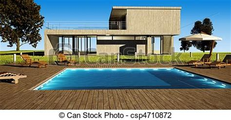 on the drawing board pool houses clip art von modern haus teich modern haus