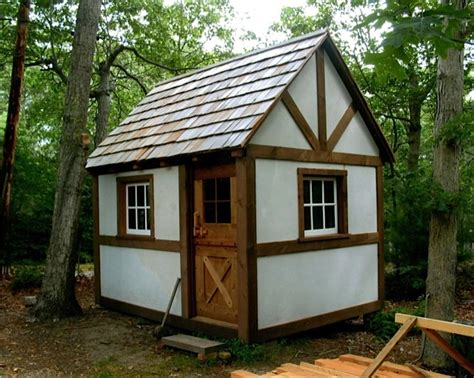 Micro Cottage | a new timber framed cottage cabin tiny house from david
