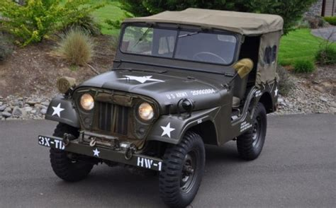 jeep army 1953 willys army m38a1 jeep
